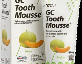 Мусс зубной реминерализующий GC Tooth Mousse/ 40гр
