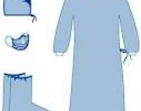 Комплект одежды для хирургов КХ-01, одноразовый, стерильный