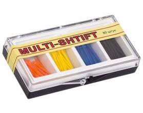 """Штифты безольные ассорти 4 вида по 20 шт """"Multi-shtift"""""""