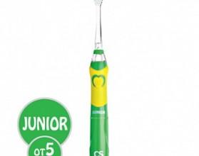 Щетка зубная CS-562 Junior  электрическая звуковая CS Medica SonicPulsar