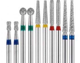 Головки алмазные для турбинного наконечника Prima Dental в ассортименте