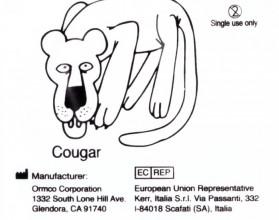Кольца эластичные Кугуар (Пума) (100шт)