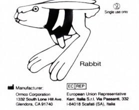Кольца эластичные 4,76 * 100гр./ Кролик (100шт)