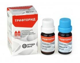Трифторид, материал для глубокого фторирования эмали и дентина.(10мл х 10мл)