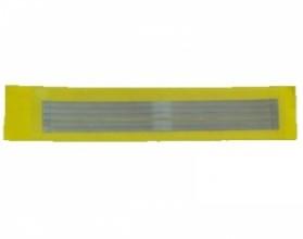 Штрипсы металлические 4мм (5 шт ) желтые