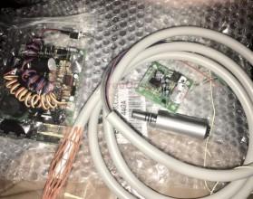 Микромотор стомат. электрический Darta LED в комплекте с платой и рукавом