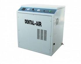 Компрессор воздушный безмысляный Dental Air 2/24/379  в кожухе с осушителем