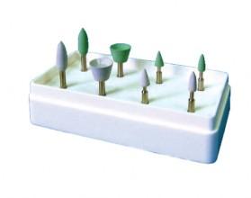 Головки полировальные эластичные для композтов №8 (Целит), арт 1.7.2.2.