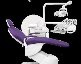 """Комплект оборудования рабочего места врача-стоматолога """"Дарта"""" (кресло 1610)"""